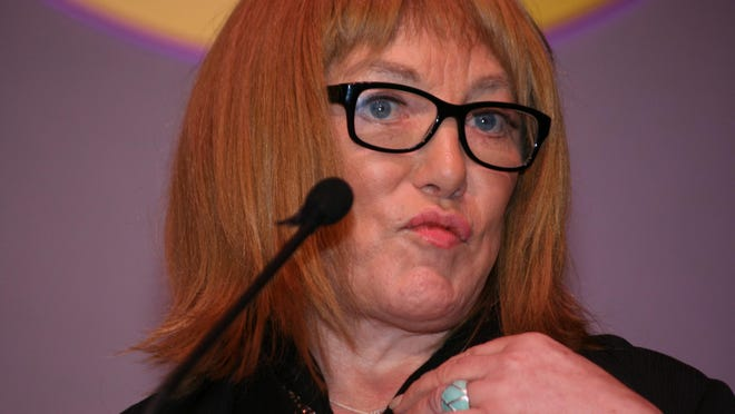"""Transgender boxing manager and promoter Kellie Maloney, the subject of the forthcoming Verdi Productions documentary """"Kellie."""""""