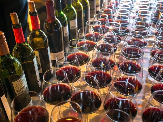The Arizona Republic Wine Competition features around