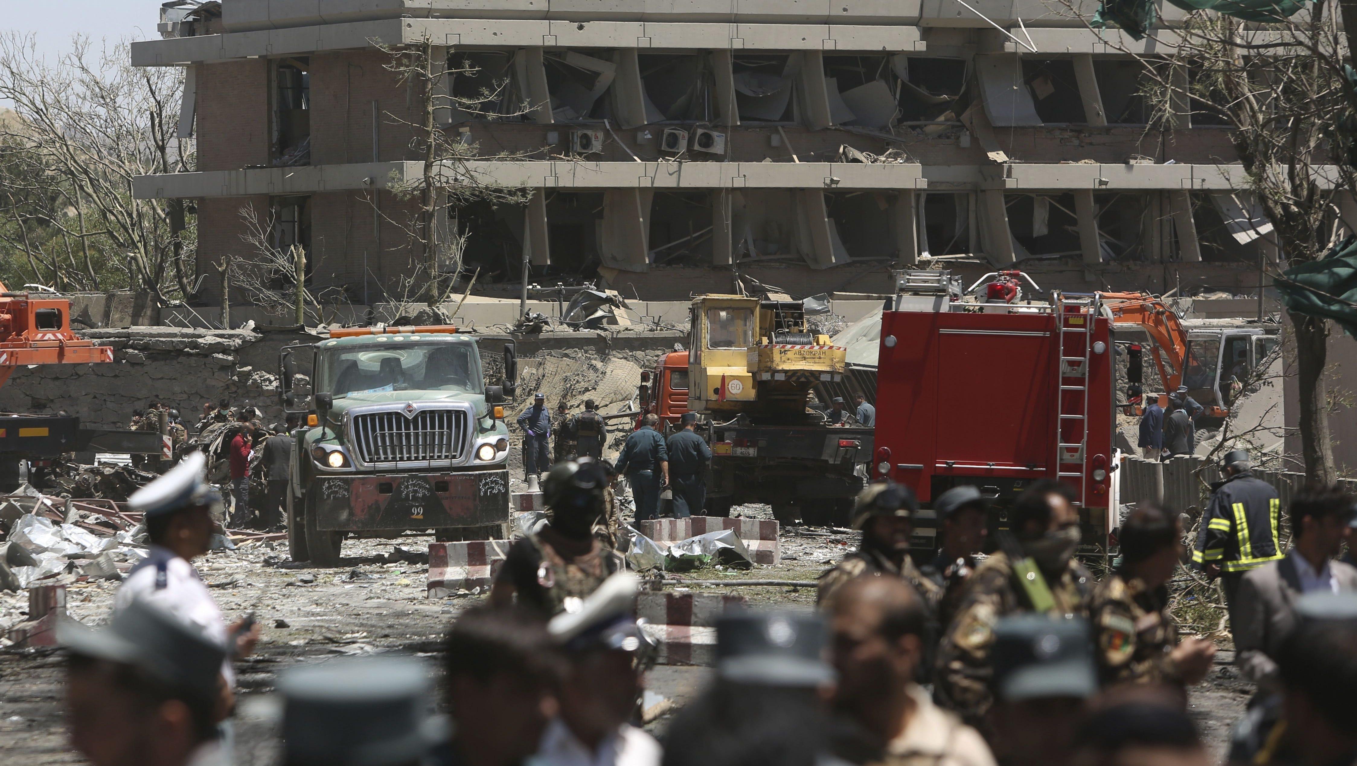 At least 80 killed in massive blast near Afghan capital