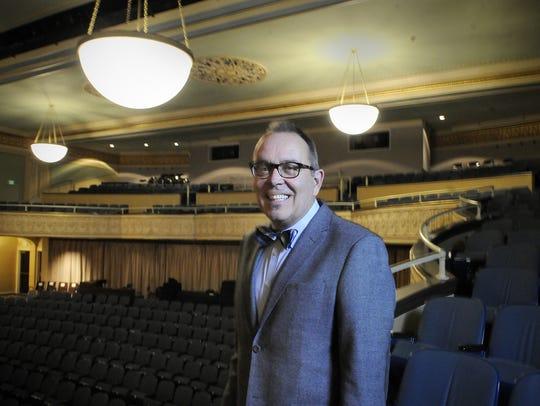 Bob Johnson, executive director of the Paramount Center