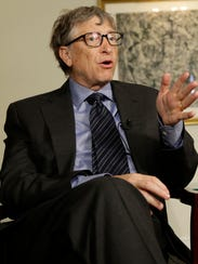 Microsoft founder Bill Gates.