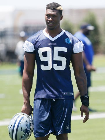 Dallas Cowboys defensive lineman David Irving (95)