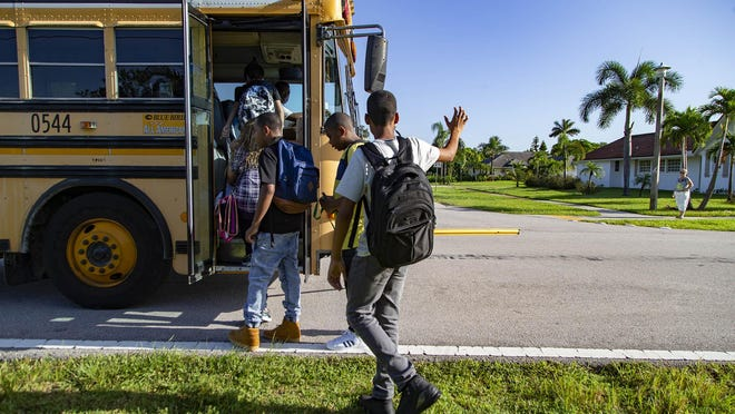 Social distancing on school buses is among many changes that could be expected when students return to classrooms in August.