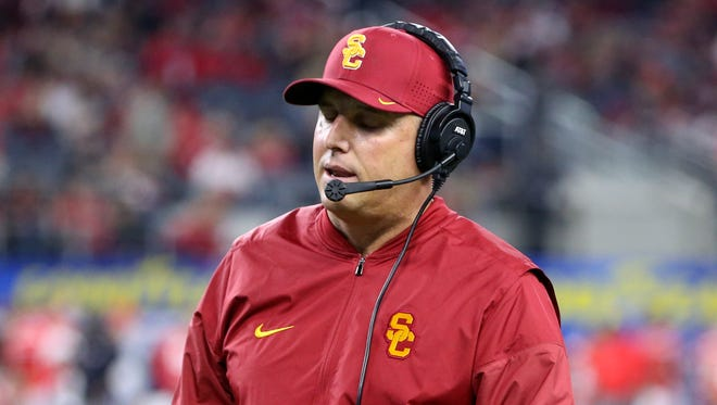 Clay Helton has reached a contract extension with USC.