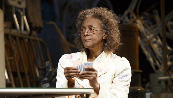 "Cicely Tyson's character has a lucky streak in ""The"