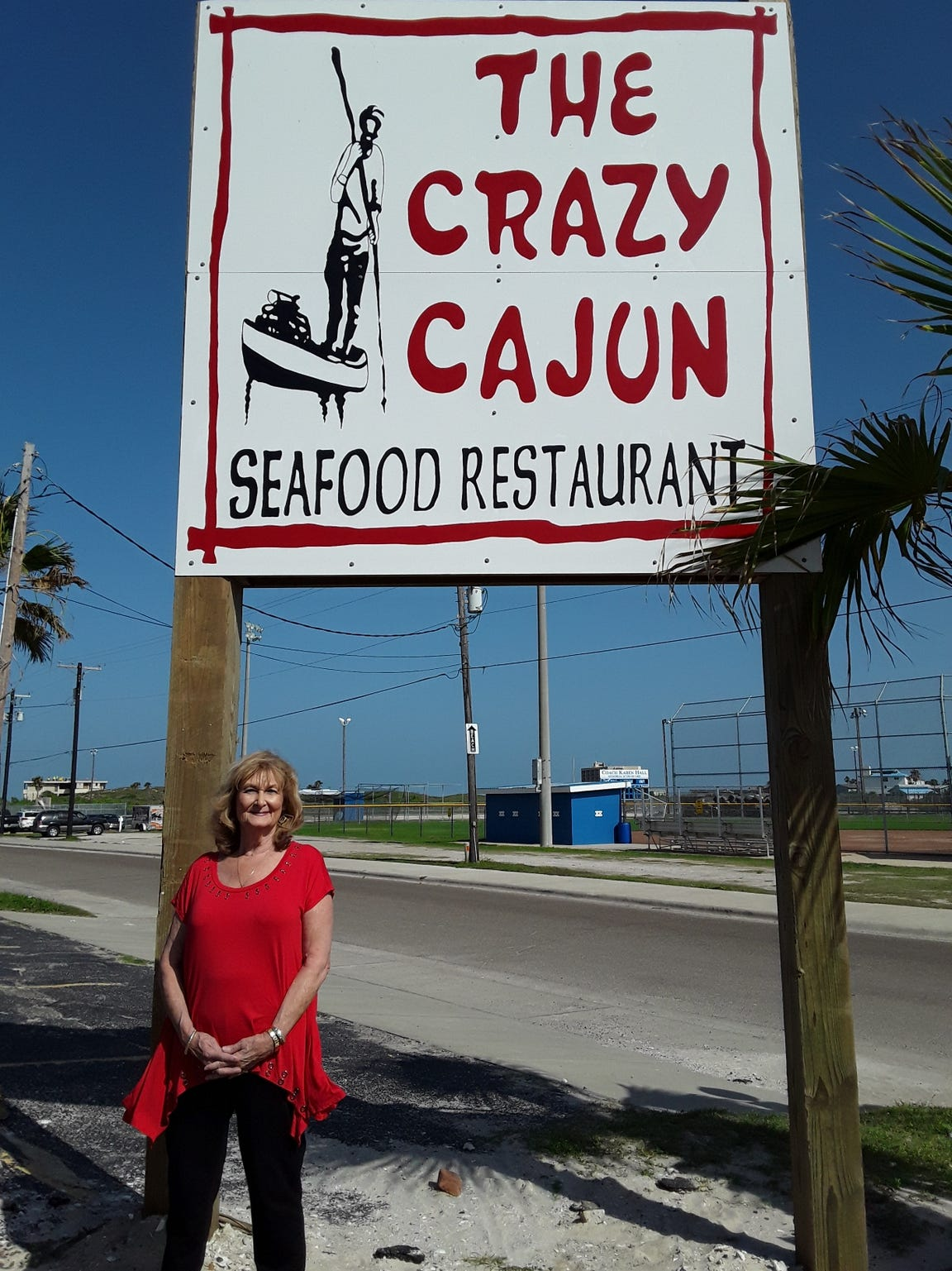 Phyllis Capps, owner of The Crazy Cajun, opened the