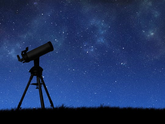 See the night sky Saturday night.