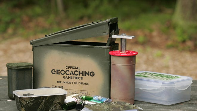 Geocaching is a great way to enjoy a treasure hunt right in your own neighborhood.