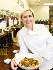 Melissa Stewart, owner/chef of Now You're Cooking,