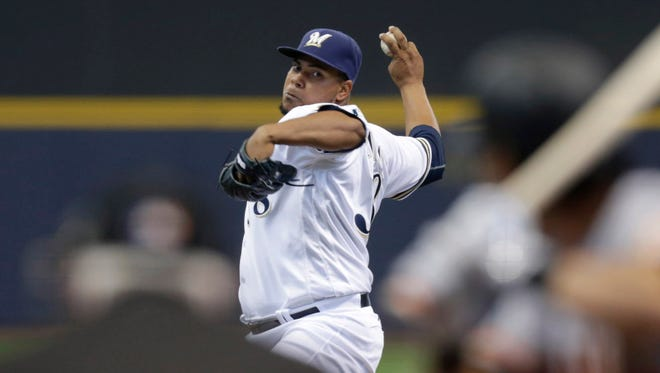 Wily Peralta, who was an arbitration eligible pitcher for the Brewers, signed for $4.275 million on Friday.