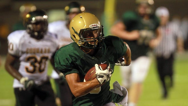 Iowa City West wide receiver Oliver Martin could be among the Class of 2017 players in the state of Iowa who earns a Division I scholarship.