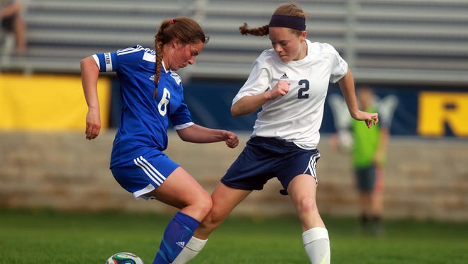 Clear Creek Amana's Bailey Mooney was named Ms. Soccer by the Iowa High School Soccer Coaches Association for her efforts both on the field and off it.