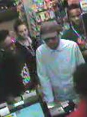 Authorities believe a man who robbed the Pilot, 6804 Clinton Highway, on Monday, Sept. 25, 2017, may have been among this group of people in the store at a separate time.