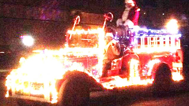The Jolly Old Elf first arrived in Silver City on Nov. 28 for the Lighted Christmas Parade.