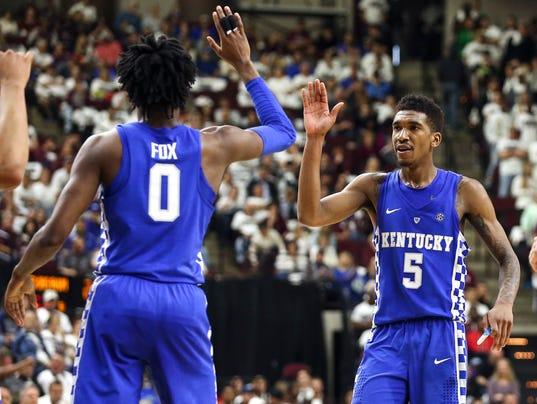 Malik Monk And De Aaron Fox Usa Today All Americans: Malik Monk Named SEC's Top Freshman, De'Aaron Fox Joins