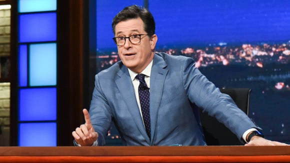 'The Late Show' host Stephen Colbert.