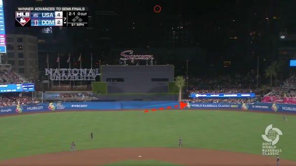 Breaking down Adam Jones' insane wall-leaping catch