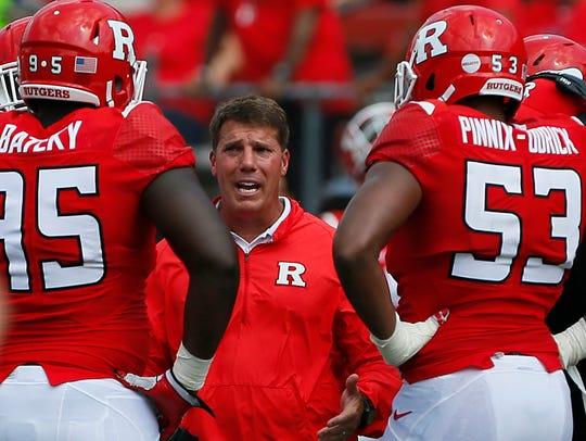 Rutgers head coach Chris Ash, an Ottumwa native, talks