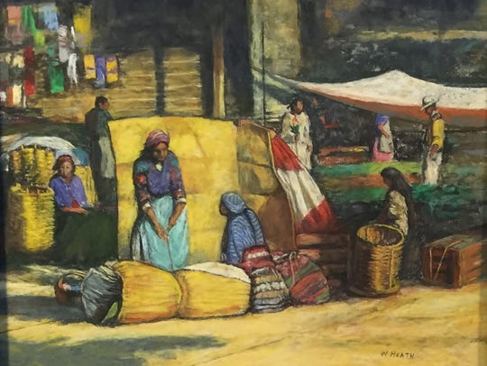 """Oaxaca Market"" by Wiley Heath"