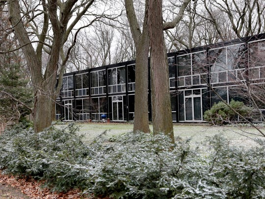 The Mies van der Rohe residential district in Lafayette
