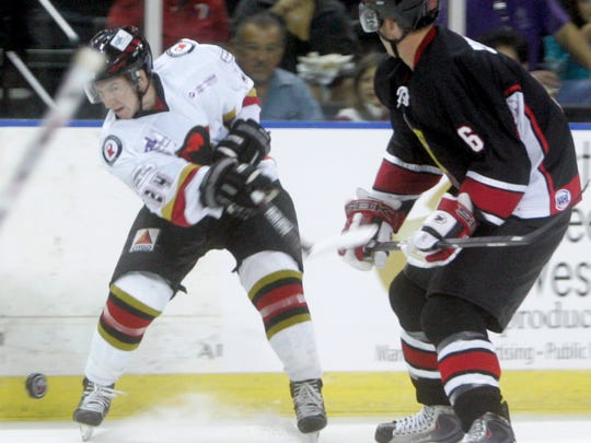 The Corpus Christi IceRays will play the Wichita Falls Wildcats at 7:05 p.m. Saturday, April 8, at the American Bank Center, 1901 N. Shoreline Blvd. Cost: Ticket prices range from $9-$22. Information: www.goicerays.com.