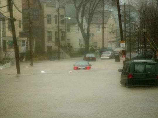 The April 2007 flood destroyed hundreds of homes and
