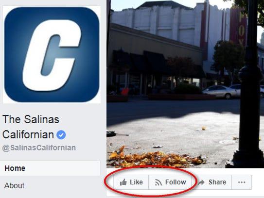 The Salinas Californian Facebook page.