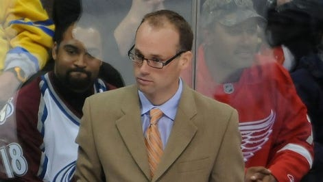 Detroit Red Wings assistant coach Jeff Blashill, in 2011.