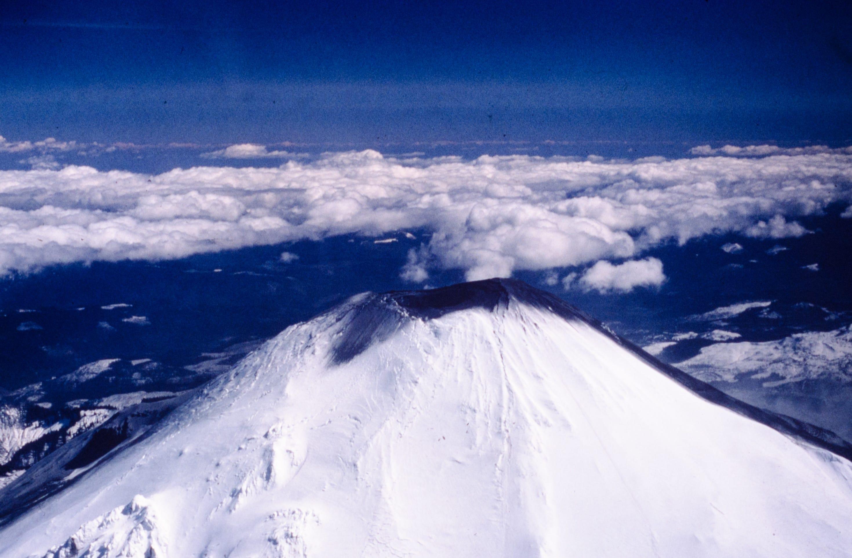 Mt. st. helens eruption carbon dating