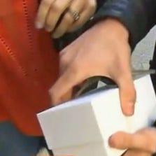 Man drops new iPhone