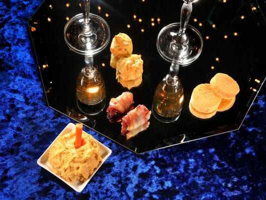 Hors d'oeuvres for the New Year