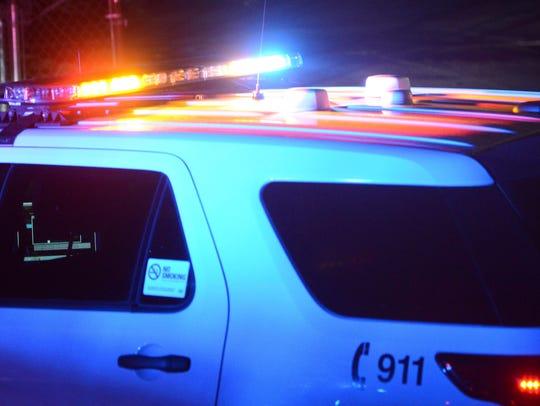 Police lights (Register file photo)