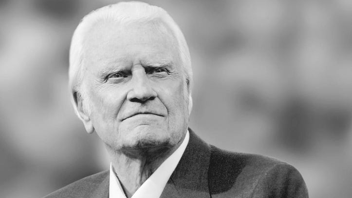 Billy Graham's body to lie in honor at U.S. Capitol next week