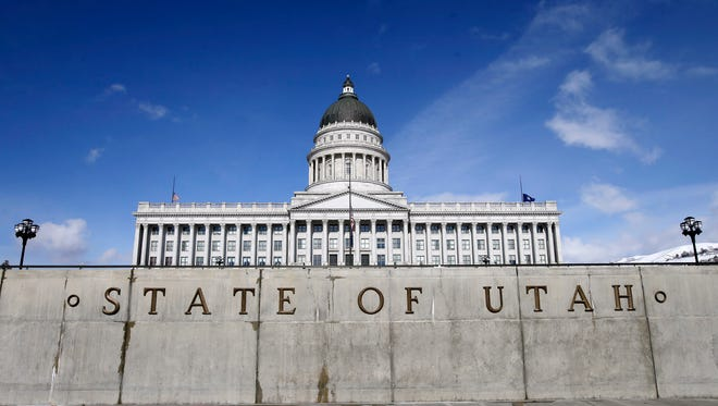 This Jan. 25, 2016, file photo, the Utah State Capitol is shown, in Salt Lake City.