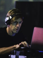 Richie Hawtin performs on the Red Bull Academy Stage