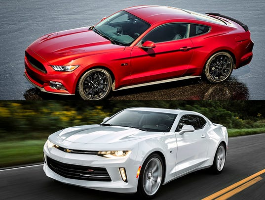 2016 Camaro squares off vs. Mustang -- On paper
