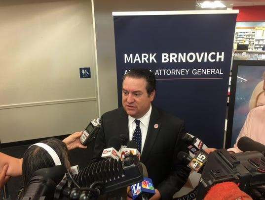 Arizona Attorney General Mark Brnovich