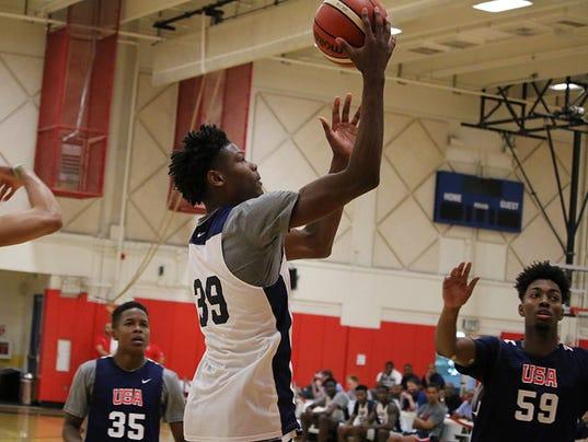 Cameron Reddish, USA Basketball