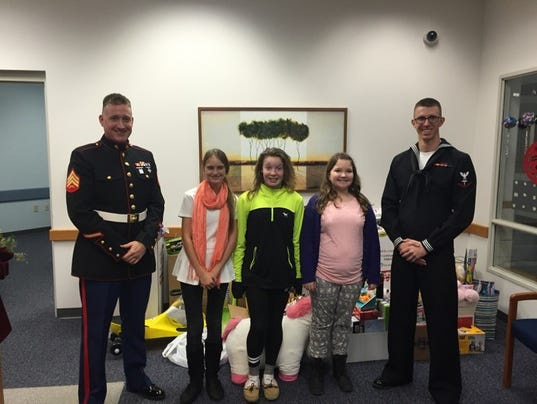 Toys For Trucks Wausau Wi : Dce middle school gives to toys for tots