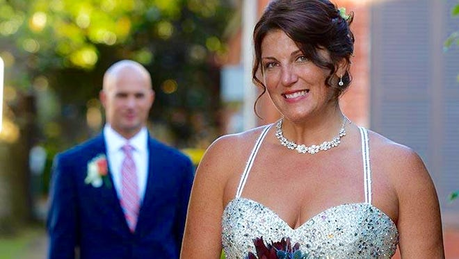 Last weekend, fitness and water reporter Michelle Mulak married Steven Brigman in Savannah, GA.