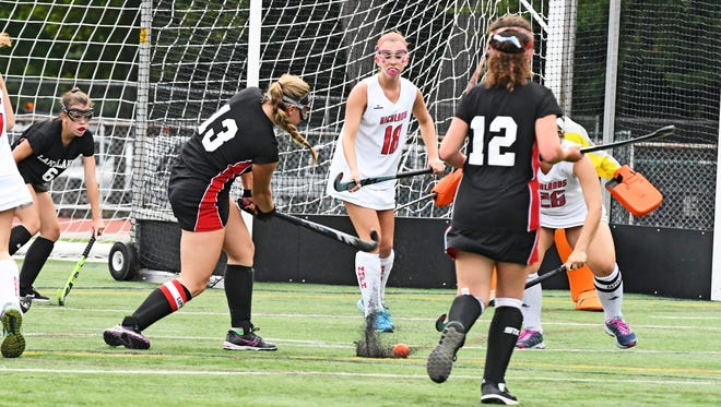 Second seed Lakeland faces No. 3 West Milford this afternoon in the North 1 Group 2 state field hockey semifinal round in Wanaque.