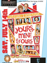 """""""Yours, Mine & Ours,"""" starring Lucille Ball and Henry"""