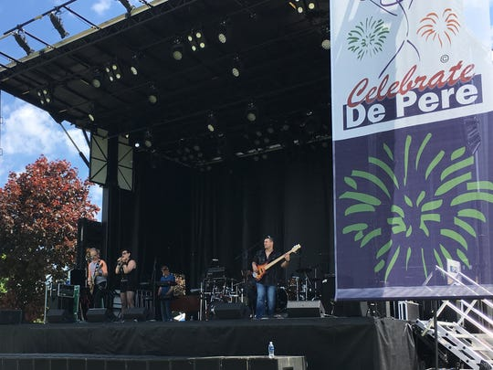 Panic Station kicked off two days of live music on Celebrate De Pere's main stage Saturday.