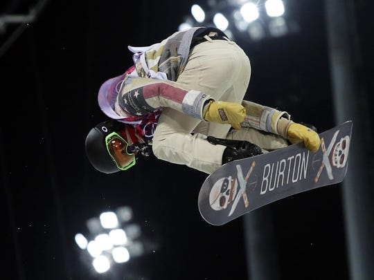 Shaun White Snowboarding Olympics