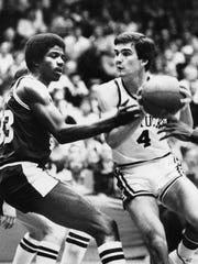 Kyle Macy faces Magic Johnson in an NCAA Tournament game vs. Michigan State.