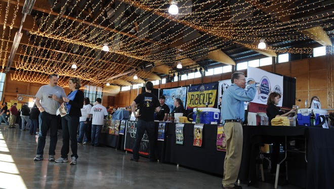 The Oregon Garden Brewfest takes place Noon to 11 p.m. today and Saturday, April 26, and noon to 5 p.m. Sunday, April 27.