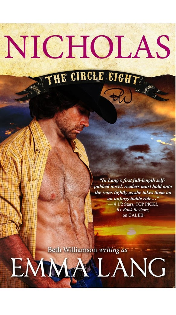 Circle Eight by Emma Lang (The Circle Eight # 3 )