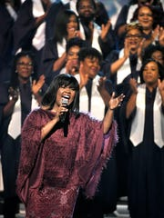 CeCe Winans performs during the CMA Country Christmas