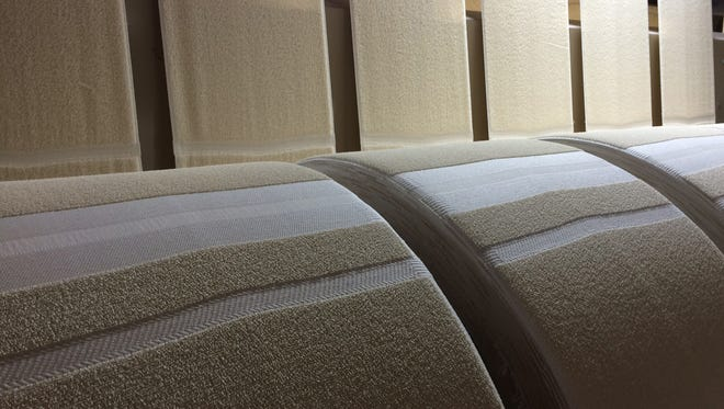 Marriott has announced it will produce all towels and bathmats used in its U.S. hotel rooms in the USA.