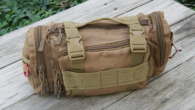 The Snugpak ResponsePak offers a convenient, modular way to carry essentials.
